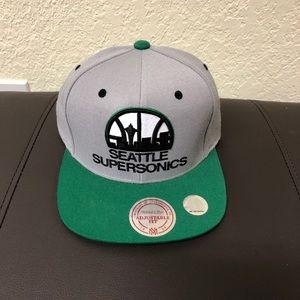 Seattle Sonics Mitchell & Ness Hat